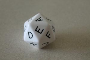 D20 Alphabet